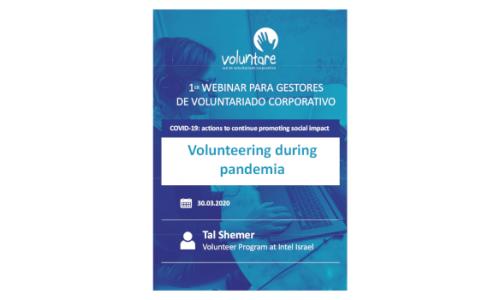 Volunteering during pandemia