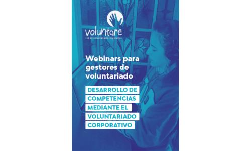 Webinar: Voluntariado corporativo y desarrollo de competencias