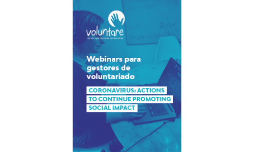 Webinar: Actions to continue promoting social impact